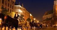 Niezapomniana noc w Krakowie